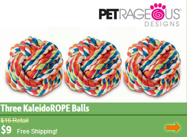 robe ball dog toys