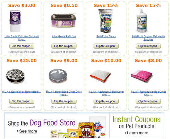 amazon pet coupons