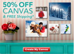 photo canvas deal