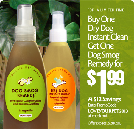 dog smog remedy dry dog shamoo