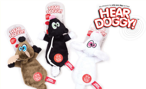 hear doggy dog toy