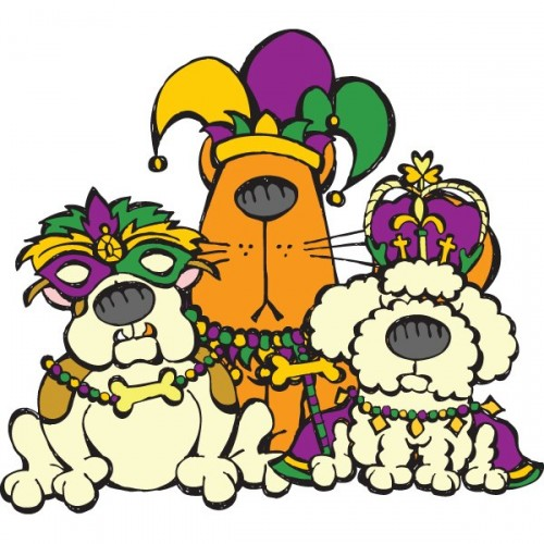 mardi gras animals