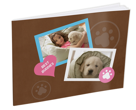 pet brag book