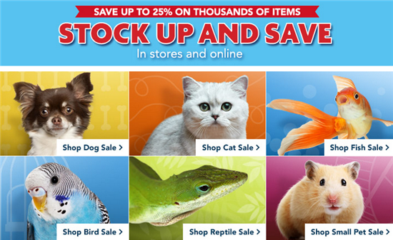 petsmart sale and deals