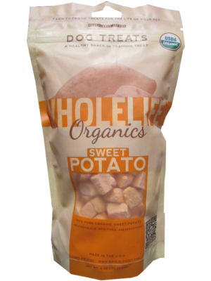 Whole Life Organics Sweet Potato Dog Treats
