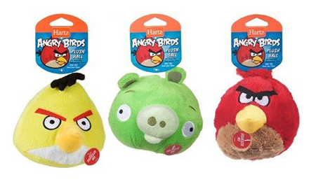 angry birds dog toys with sound effects