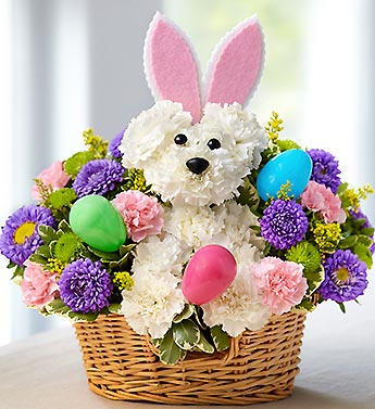 dog lover easter flowers