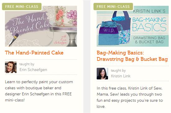 free craft classes