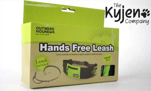 hipster hands free leash