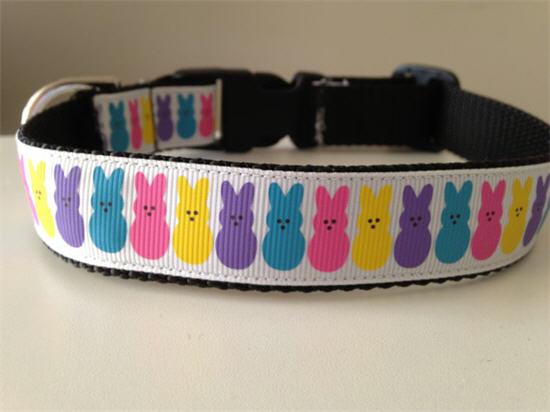 peeps dog collar
