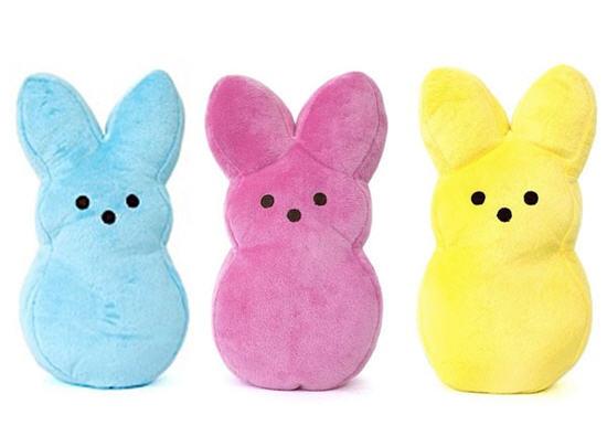 peeps dog toys
