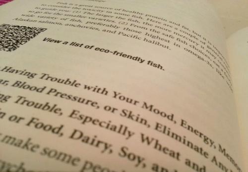qr code in book