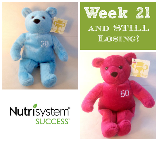 week 21 weight loss