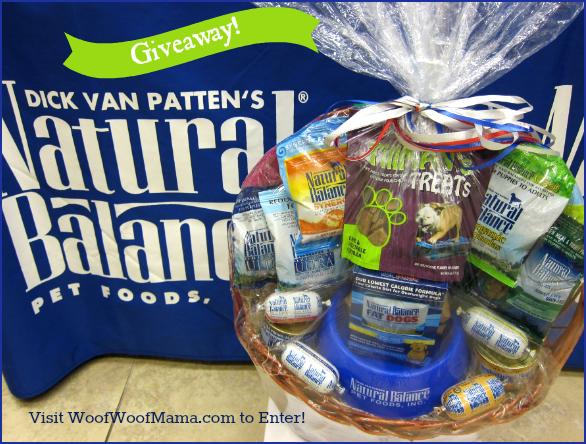 Natural Balance Dog Food Coupons >> Giveaway: Win a Natural Balance Gift Basket for Your Dog! | Woof Woof Mama