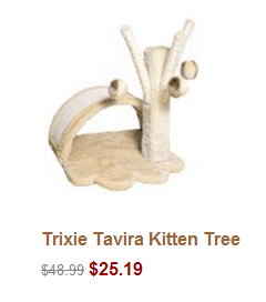 Trixie Tavira Kitten Tree