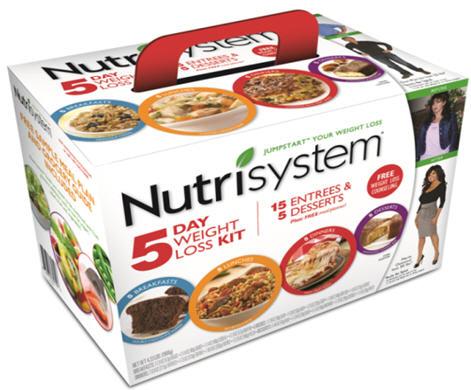 nutrisystem 5 day kit