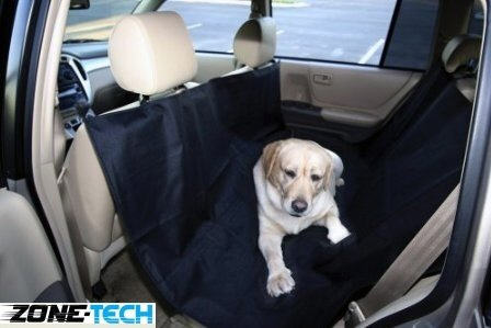 pet car seat cover black