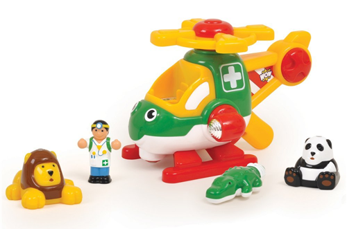 animal rescue helicopter toy