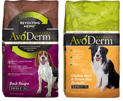 avoderm dog food