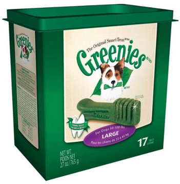 Show your pet some love with this fantastic bargain! Today only, save 40% or more on Greenies Dental Treats for Dogs & Cats! Give them a treat that also promotes dental health with these highly-rated products from Greenies.
