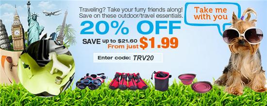 pet travel sale