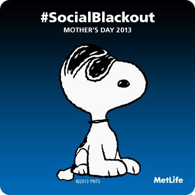 social blackout for Mother's Day