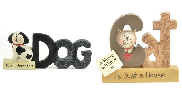 dog and cat accents