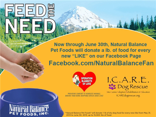 Natural Balance Dog Food Coupons >> Like Natural Balance on Facebook to Help Animals in Need | Woof Woof Mama