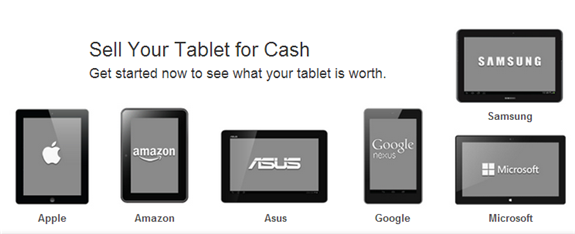 sell used tablet