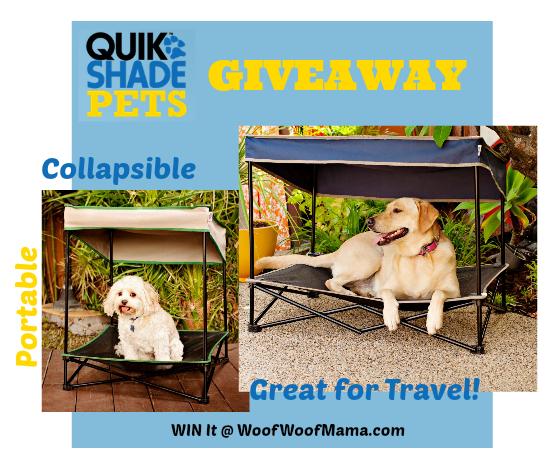 portable pet shade canopy