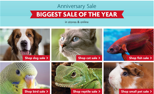 Petsmart Anniversary Sale Blue Buffalo Advantix 20 Off