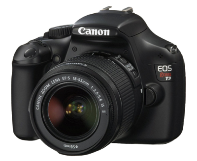 deal on Canon T3 DSLR