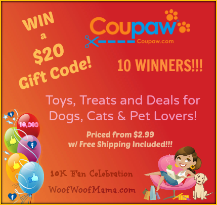 Win a Coupaw Shopping Spree for Your Pet!