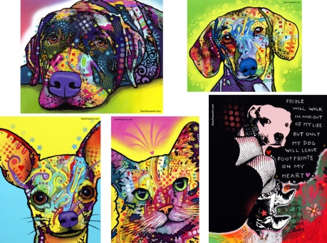 dean russo pet prints