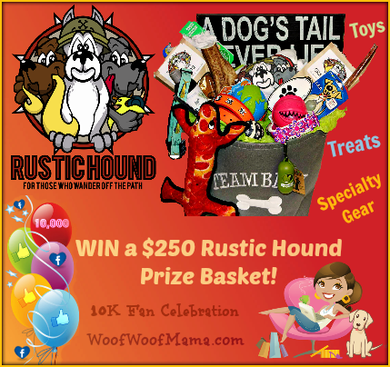 Win a $250 Rustic Hound prize pack for your dog!
