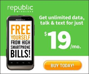 $19 per month cell phone