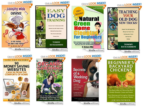 free natural and pet kindle books