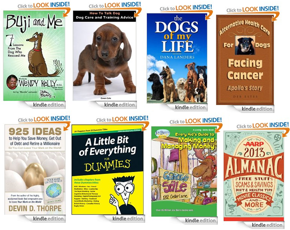 free kindle books about pets and money