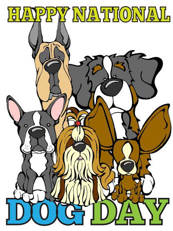 national dog day printable