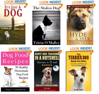 new free kindle dog books