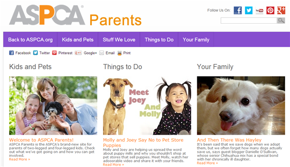 aspca parents