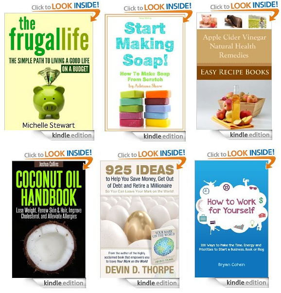 free natural frugal books