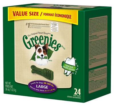 greenies large dental chews for dogs