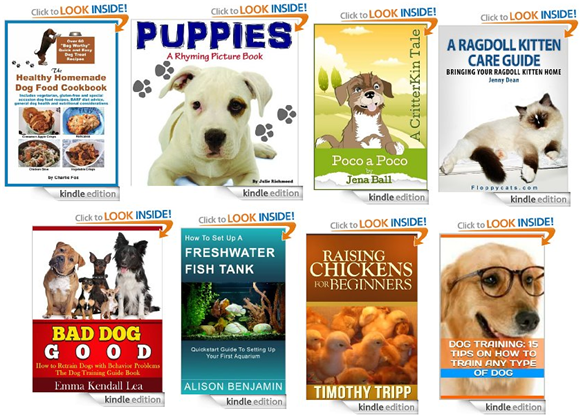 new free ebooks about pets and animals