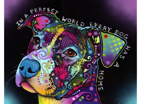 dean russo in a perfect world dog art