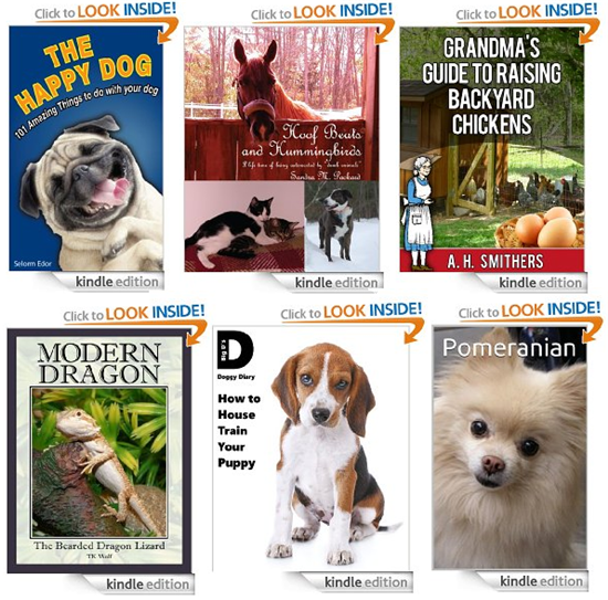 6 free kindle pet books