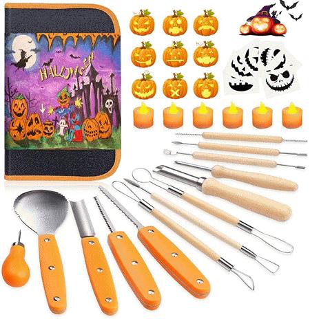 Easy Pumpkin Carving Tool Kit