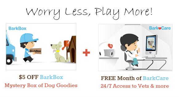 free barkcare w/ barkbox promo code