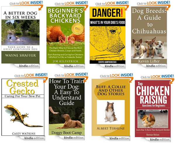 new free kindle pet books