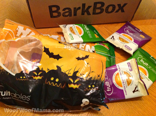 trick or treating dog treats
